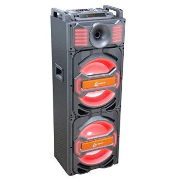Caixa Amplificada, CA 3800 1000W, Lenoxx