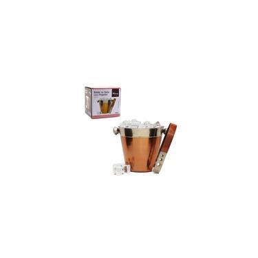 Imagem de Balde De Gelo Inox Com Pegador Para Whisky Cervejas Bebidas
