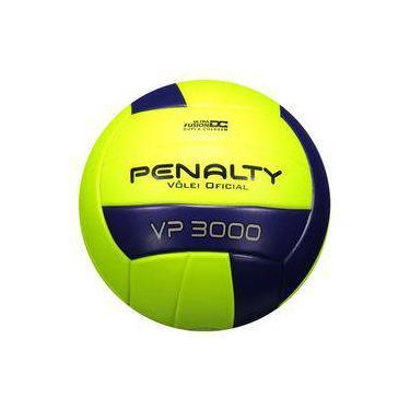 Bola De Vôlei Penalty Vp 3000 Amarela E Roxa