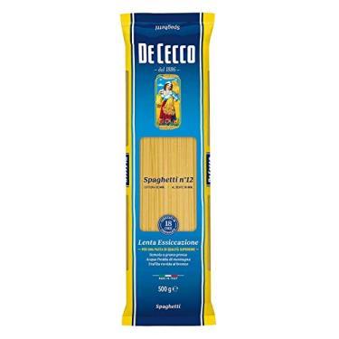 Macarrão de Trigo Grano Duro Espaguete 12 de Cecco Pacote 500g