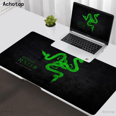 Razer mouse pad gaming mousepad tapete de mesa teclado tapete tappetino xxl 900x400 para computador