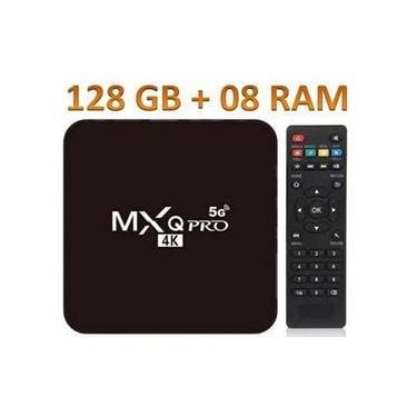 Smart Tvbox 8gb + 128gb 4k Android 11 Wifi 5g Internet Tv