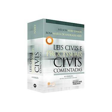 Leis Civis e Processuais Civis Comentadas - Nelson Nery Junior - 9788520356340