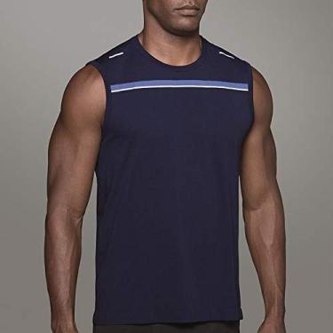 Camiseta Lupo Reg. S. Run (Adulto) Tamanho: M | Cor: Marinho