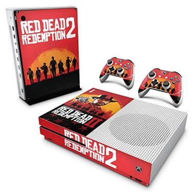 Skin Adesivo para Xbox One Slim - Red Dead Redemption 2