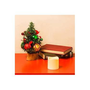 Árvore de Mesa Decorada Natal Prático 30 cm - Orb Christmas