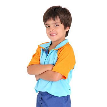 Imagem de Fantasia Camisa Masculina Chiquititas Infantil - Original G