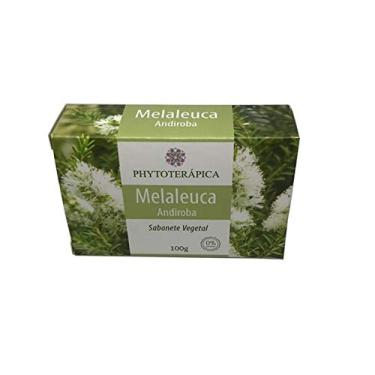 Sabonete Vegetal Melaleuca Andiroba 100g - Phytoterapica