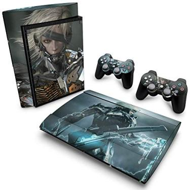 Skin Adesivo para PS3 Super Slim - Metal Gear Solid Rising