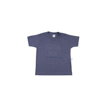 Camiseta Infantil Malha Vintage Bordado Skate California Usa - Marinho