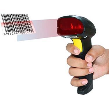 Imagem de Leitor Wireless Código De Barras Laser Sem Fio