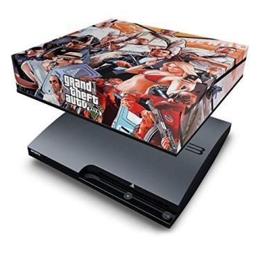 Capa Anti Poeira PS3 Slim - Gta V 5