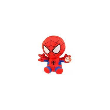 Imagem de Homem Aranha Pelúcia Ty Beanie Babies Marvel - Dtc 3718