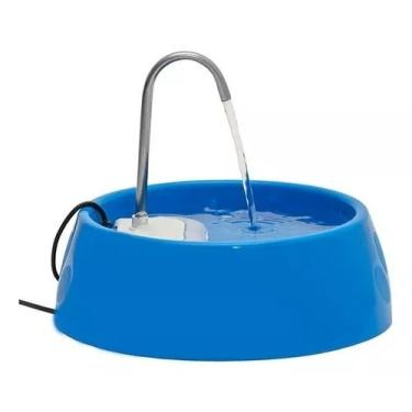 Fonte Bebedouro E Purificador Aqua Mini Bivolt - Azul - Amicus