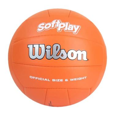 Bola de Vôlei Soft Play (Laranja) - Wilson
