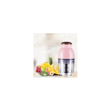 Mini Liquidificador Triturador Elétrico Moedor De Carne De Alimentos Picador De Frutas 600ml