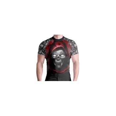 Imagem de Rash Guard Compr Skull Red Térmica ATL