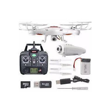 Imagem de Drone Syma X5c-1 Upgraded 6 Eixos/bateria 500mah/3.7v - Branco 1