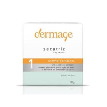 Secatriz Sabonete Em Barra Antisséptico E Antiacne Facial Dermage 90G