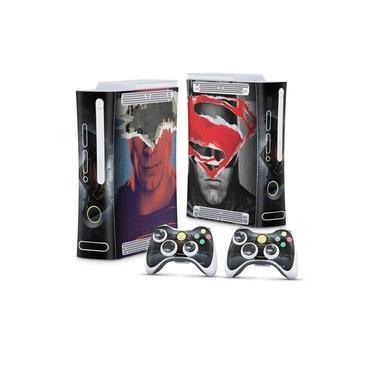 Skin Adesivo para Xbox 360 Fat Arcade - Batman Vs Superman