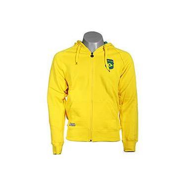 Casaco Moletom CVC Amarelo Brasil - FIFA