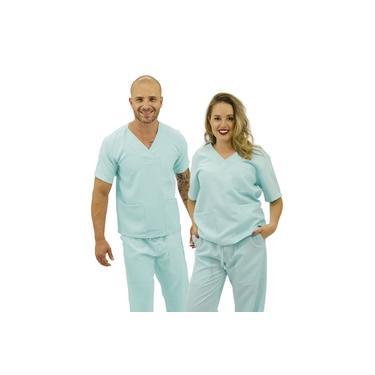 Pijama cirúrgico unissex Premium Verde Piscina (Oxford)(R: 22)
