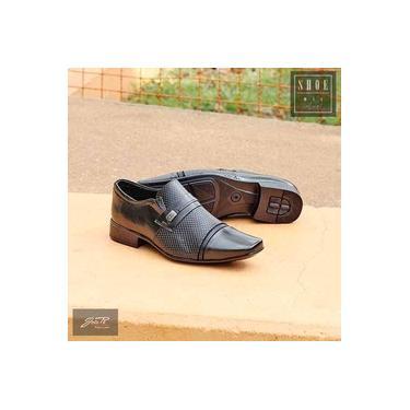 Sapato Social Jota Pe Preto Masculino 30565