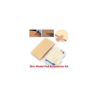 Imagem de 13 em 1 Kit de Prática de Sutura Medical 3 Camadas Sutura Pad Modelo de Treinamento da Pele Humana