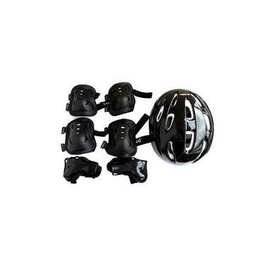 Kit de Proteção para Skate Patins Bike Patinete tamanho médio Bel Sports