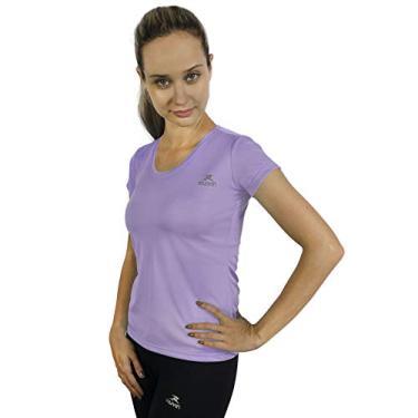 Camiseta Color Dry Workout Ss - Muvin - Cst-400 - Lilás - Eg