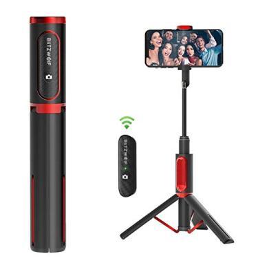 Bastão De Selfie Tripé Blitzwolf Bw Bs10 Controle Bluetooth