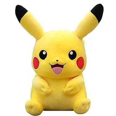 Imagem de Brinquedo de Pelúcia Pokémon - Bichinhos de Pelúcia (Pikachu B - 25cm)