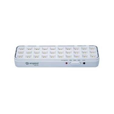 Imagem de Luminária Iluminação Luz de Emergência 100 Lúmens ENGESUL INTELBRAS LDE 30L