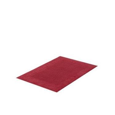 Imagem de Tapete de Banheiro Buddemeyer Vermelho 48x70cm