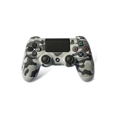 Controle Sem Fio Playstation 4 Camuflado Cinza - Ps4