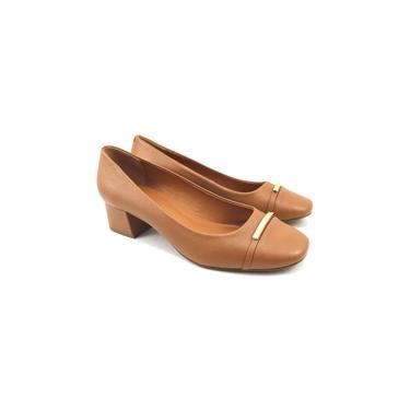 Sapato social feminino Luz da Lua couro legitimo PROMOÇÃO