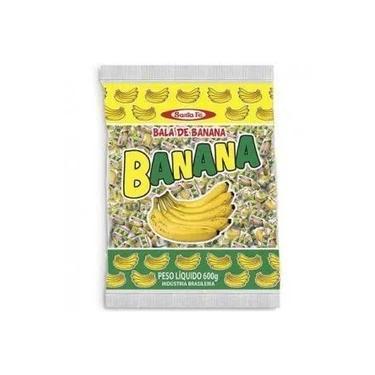 Bala De Banana Mastigavel 500g