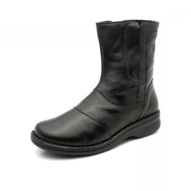 Imagem de Bota Doctor Shoes 372 Preta 372-Pto-186-1026 feminino
