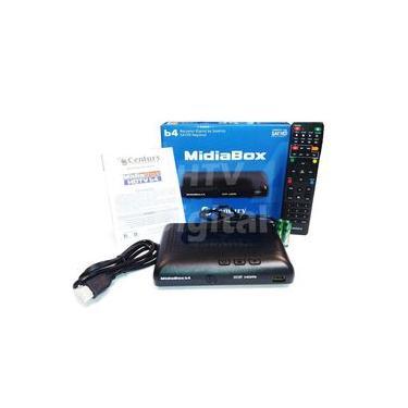 Receptor Midiabox B4 Century Hd Digital Substitui Midia B3 Z
