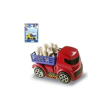 Imagem de Caminhão Boiadeiro Brinquedo Infantil Zuca Toys