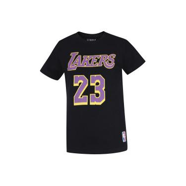 Camiseta NBA Los Angeles Lakers 23 - Infantil NBA Masculino