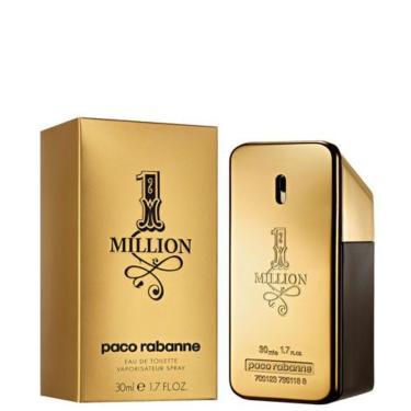 Perfume Paco Rabanne 1 Million Masculino Eau De Toilette 30Ml