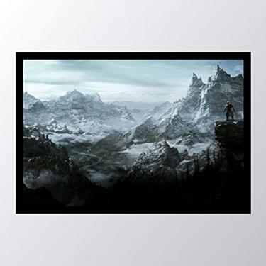 Quadro com moldura The Elder Scrolls V_023