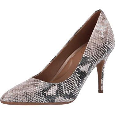 Aerosoles Sapato feminino Shipmate, Tan Snake, Medium