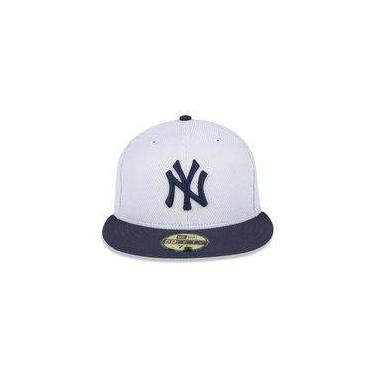 Bone 5950 New York Yankees Mlb Aba Reta Cinza New Era 4864c0b865c
