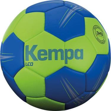 Bola Handebol Kempa Leo - Tam. 3 - Verde/Azul - Pu Kempa Azul