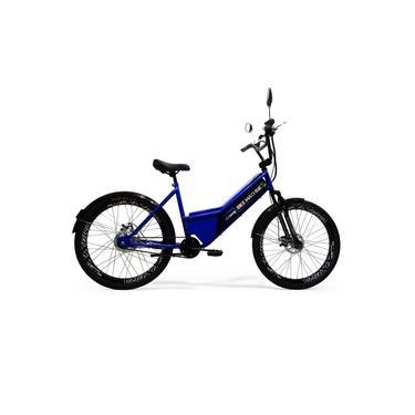 Imagem de Bicicleta Elétrica Machine Motors Sport 350W 36V Azul