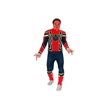 Imagem de Fantasia Homem Aranha Adulto Guerra Infinita