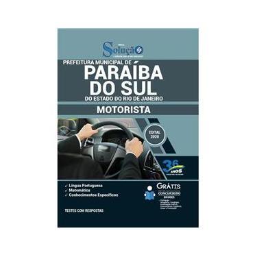 Imagem de Apostila Concurso Paraíba Do Sul Rj - Motorista