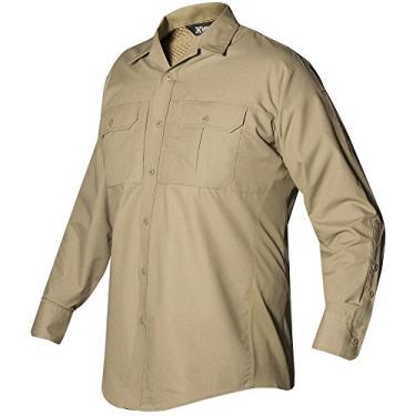 Camisa masculina de manga comprida Phantom LT Vertx, Bronze Deserto, XGG/XG
